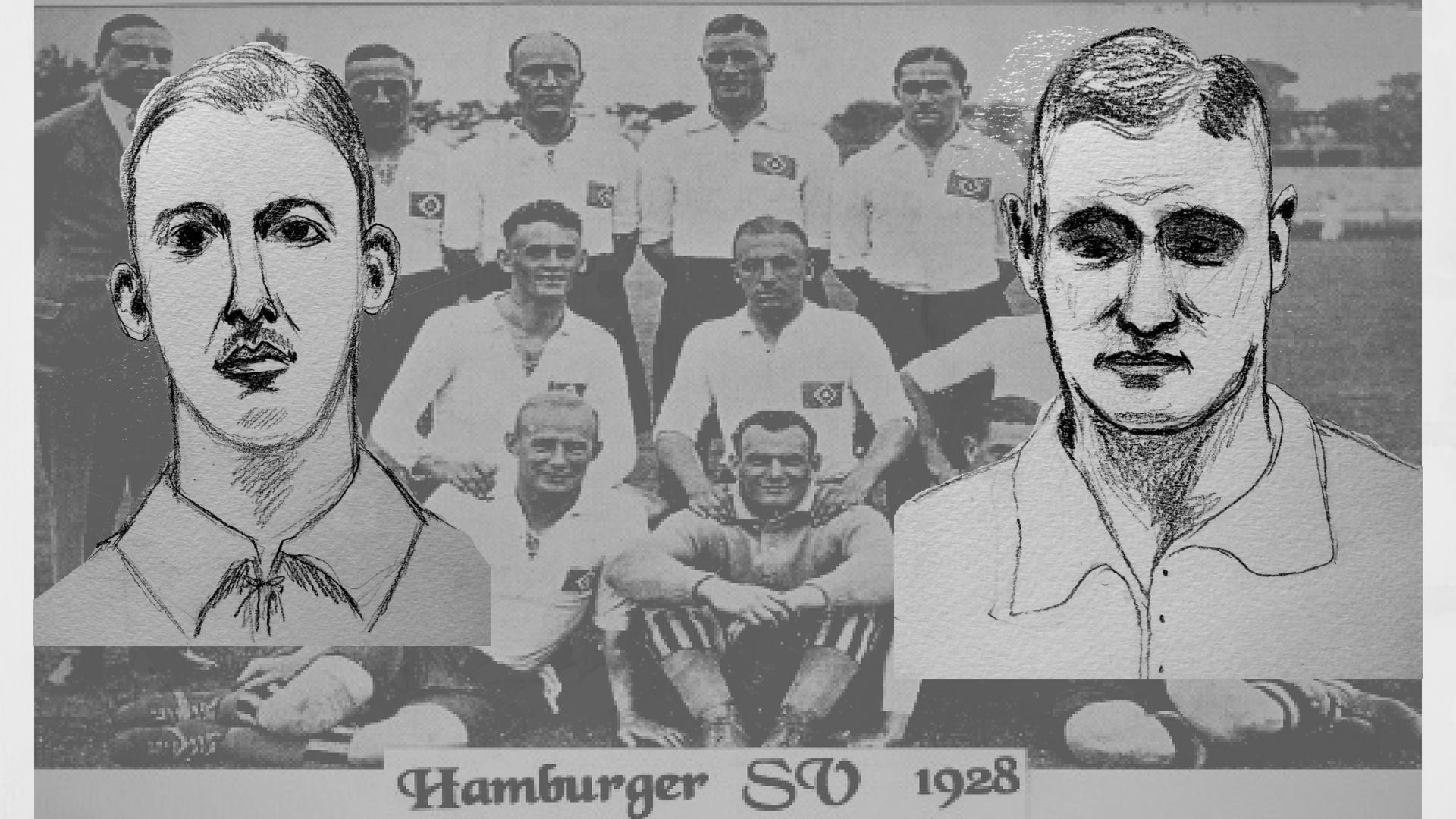 Asbjørn Halvorsen e Otto Harder